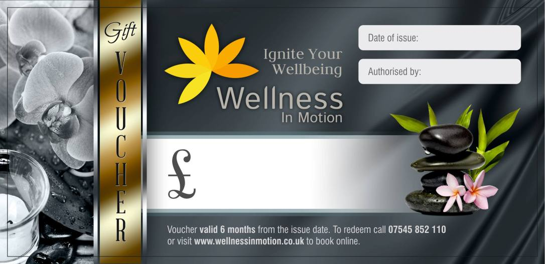 voucher - wellness in motion