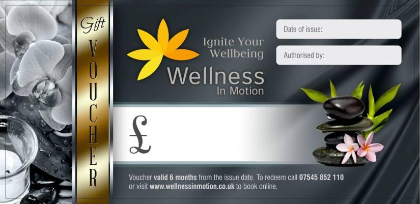 voucher - wellness in motion